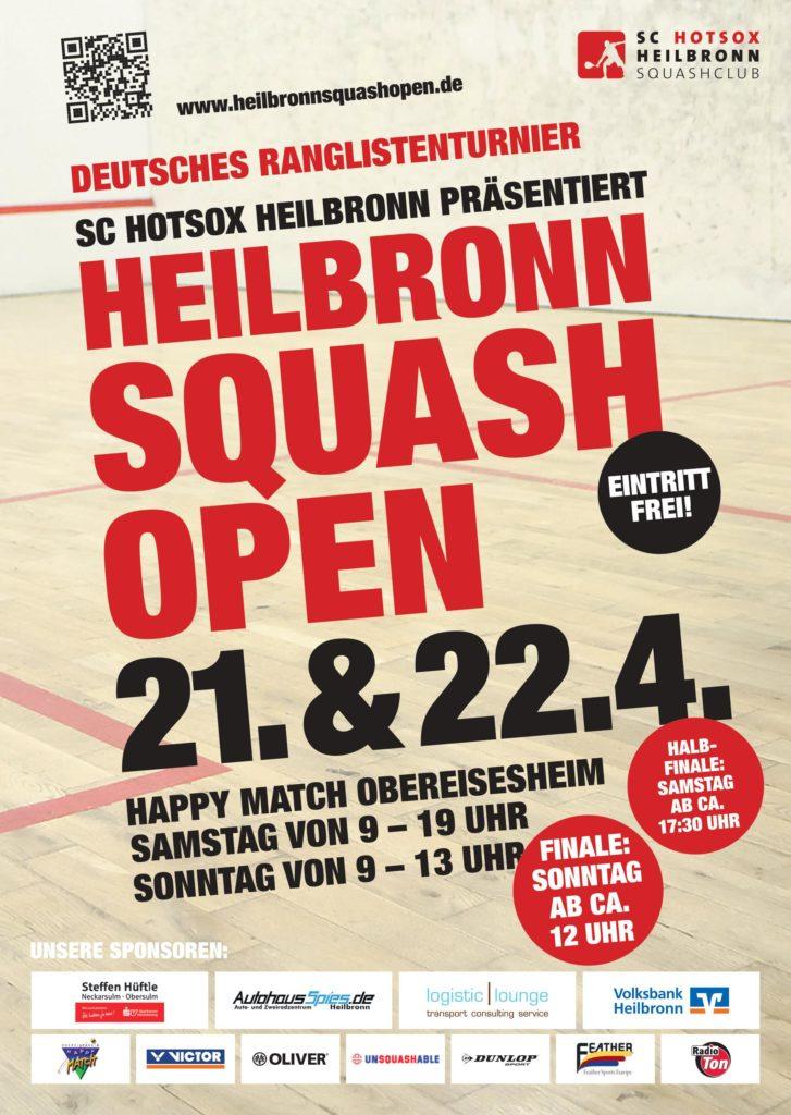 Heilbronn Squash Open 2018